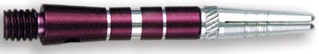 Dart World Top Spin Grooved Shafts Purple - Short