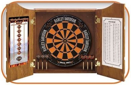 Dart World Harley Davidson® Bar & Shield Dart Set